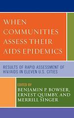 When Communities Assess Their AIDS Epidemics af Benjamin P. Bowser