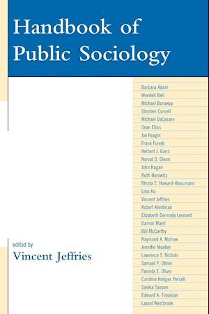 Handbook of Public Sociology af Barbara Adam, Stephen Cornell, Michael Burawoy
