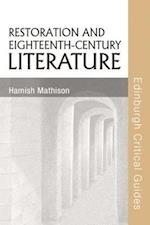 Restoration and Eighteenth-Century Literature (Edinburgh Critical Guides to Literature)