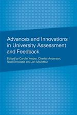 Advances and Innovations in University Assessment and Feedback af Charles Anderson