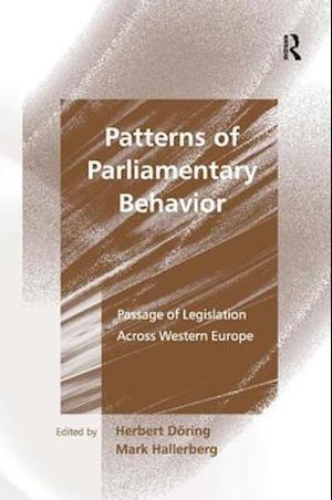 Patterns of Parliamentary Behavior af Herbert Doring