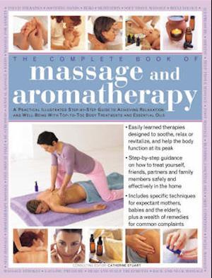 Bog, hardback Massage and Aromatherapy af Catherine Stuart