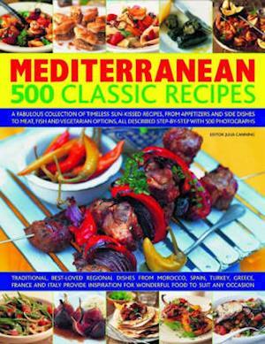 Bog, hardback Mediterranean 500 Classic Recipes af Julia Canning