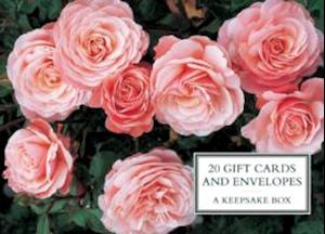 Tin Box of 20 Gift Cards and Envelopes: Roses af Peony Press