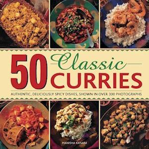 50 Classic Curries af Manisha Kanani