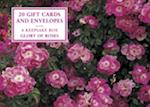 Tin Box of 20 Gift Cards and Envelopes: Glory of Roses