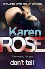 Don't Tell (The Chicago Series Book 1) af Karen Rose
