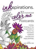Inkspirations Color Me Postcards (Inkspirations)