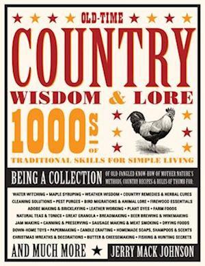 Bog, paperback Old-Time Country Wisdom & Lore af Jerry Mack Johnson