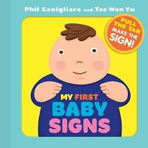 Bog, hardback My First Baby Signs af Phil Conigliaro