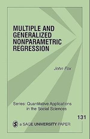 Multiple and Generalized Nonparametric Regression af John Fox