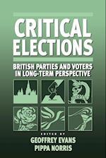 Critical Elections af Pippa Norris, Geoffrey Evans