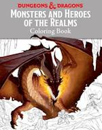 Monsters and Heroes of the Realms Coloring Book (Ologies)