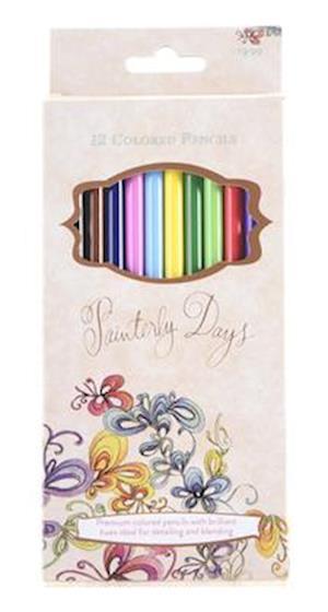 Bog, paperback Painterly Days - 12 Colored Pencils af Kristy Rice