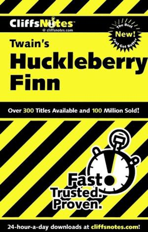 CliffsNotes on Twain's The Adventures of Huckleberry Finn af Robert Bruce