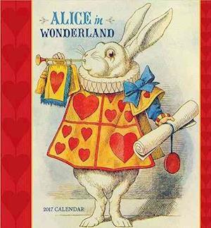 Alice in Wonderland 2017 Calendar af Pomegranate Communications Inc.
