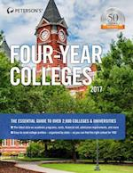 Peterson's Four-Year Colleges 2017 (PETERSON'S FOUR YEAR COLLEGES)