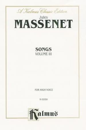 Bog, paperback Songs af Jules Massenet