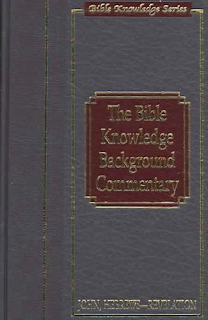 Bog, hardback The Bible Knowledge Background Commentary af Craig A. Evans