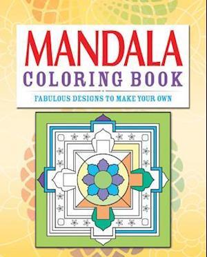 Mandalas Adult Coloring Book af Arcturus Publishing