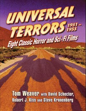 Bog, hardback Universal Terrors 1951-1955 af Tom Weaver