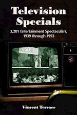 Television Specials af Vincent Terrace