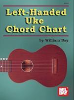 Left-Handed Uke Chord Chart af William Bay
