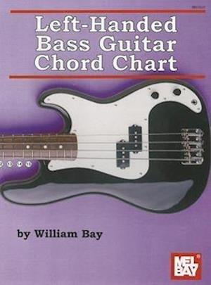 Left-Handed Bass Guitar Chord Chart af William Bay