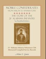 Mobile Confederates from Shiloh to Spanish Fort af Arthur E. Green
