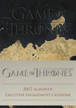 Game of Thrones Executive 2017 Calendar af Hbo