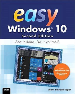 Bog, paperback Easy Windows 10 af Mark Edward Soper