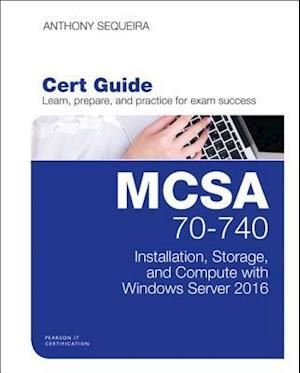 Bog, hardback McSa 70-740 Cert Guide af Anthony Sequeira