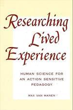 Researching Lived Experi af Max Van Manen, Max Manen