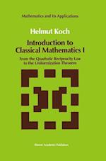 Introduction to Classical Mathematics af Helmut Koch