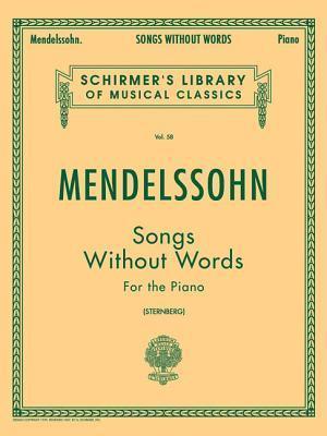 Songs Without Words af Constantin Von Sternberg, Felix Mendelssohn