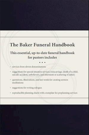 Bog, hardback The Baker Funeral Handbook