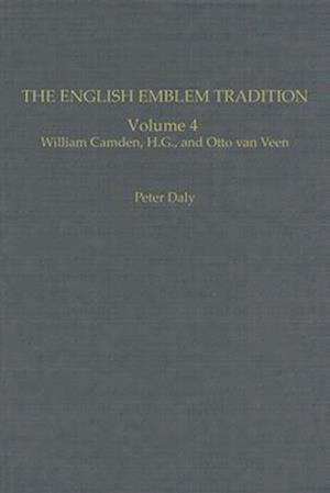 The English Emblem Tradition af William Camden, M. Daly Peter