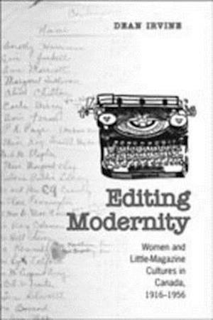 Editing Modernity af Dean Irvine