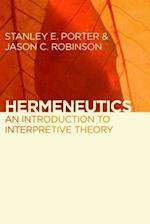 Hermeneutics af Stanley E Porter, Jason C Robinson