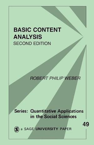 Basic Content Analysis af Robert Philip Weber