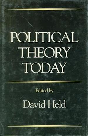 Bog, paperback Political Theory Today af David Held