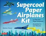 Supercool Paper Airplanes Kit