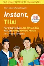 Instant Thai (Instant Phrasebook)
