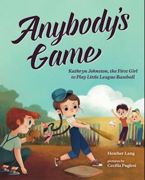 Bog, hardback Anybody's Game af Heather Lang