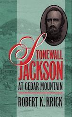 Stonewall Jackson at Cedar Mountain af Robert K. Krick