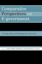Comparative Perspectives on E-Government af Jeffrey W Seifert, Robert E Dugan, Rowena Cullen