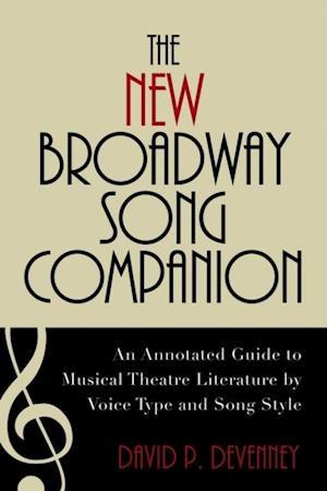 New Broadway Song Companion af David P Devenney