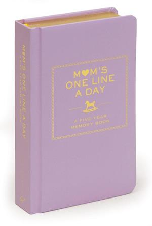 Mom's One Line a Day af Chronicle Books