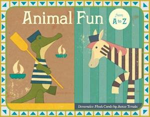 Animal Fun from A to Z Flash Cards af Junzo Terada