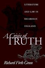A Crisis of Truth af Richard Firth Green